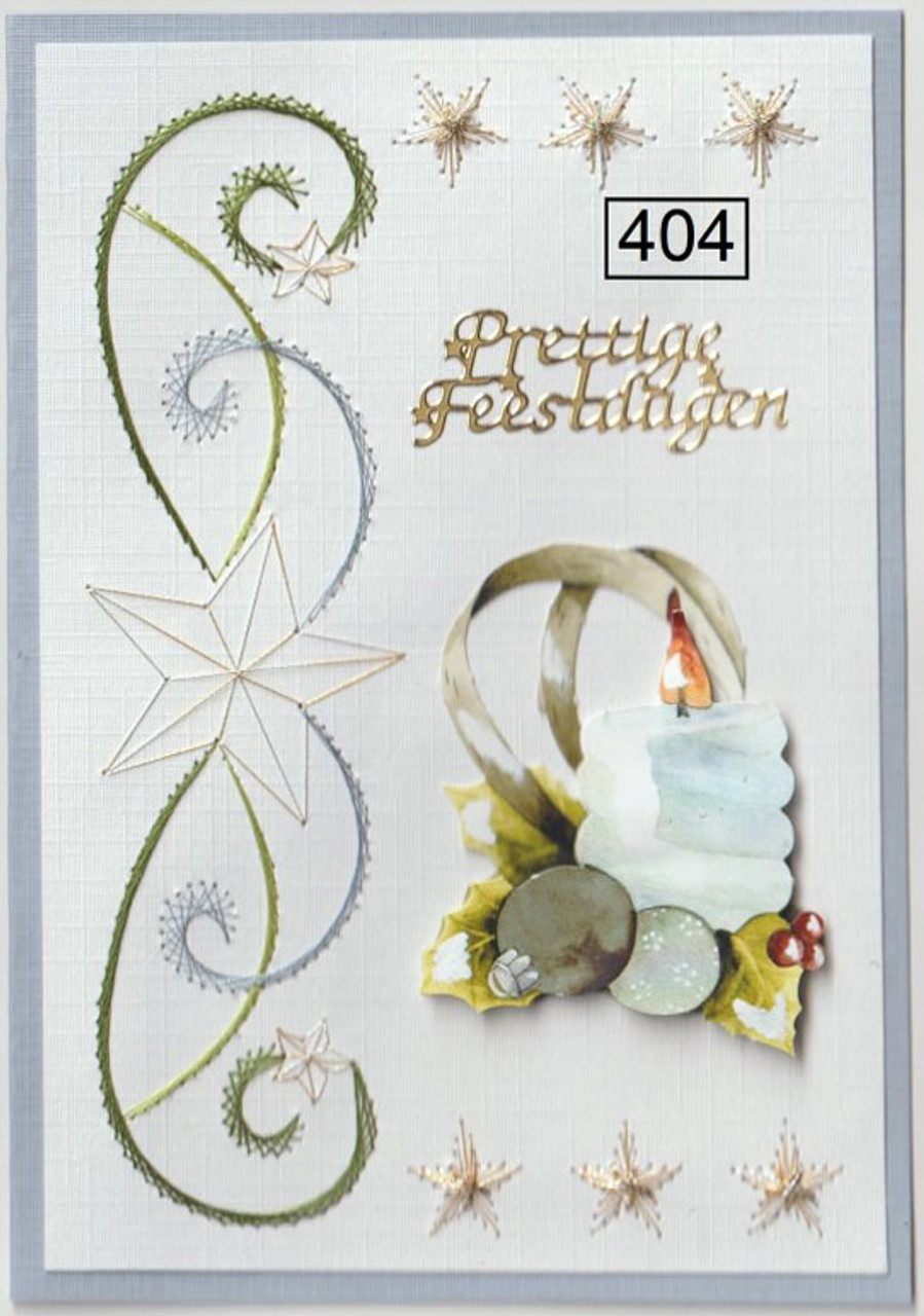 Laura's Design Card Stitching Pattern - LD404