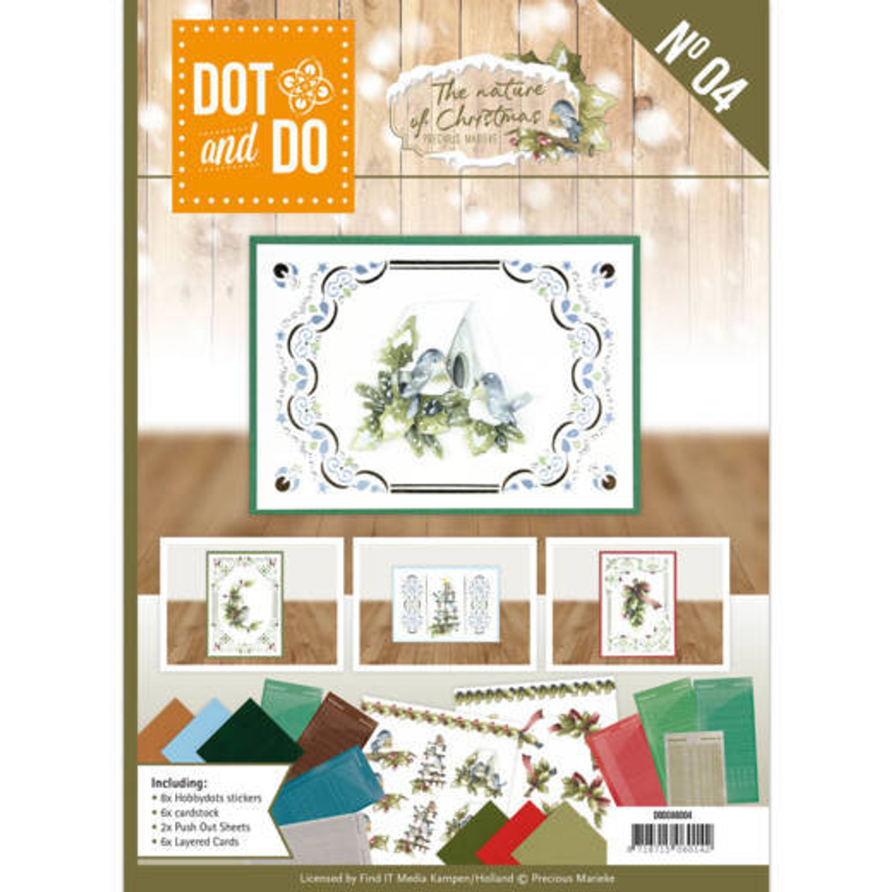 Dot and Do Book The Nature of Christmas - A6 Book 4