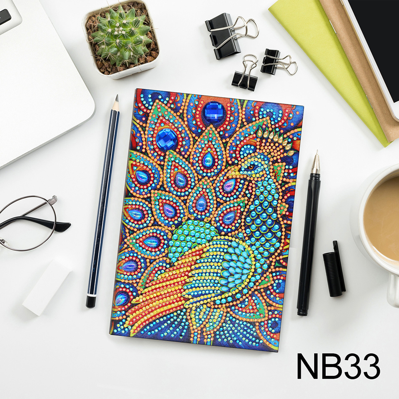 5D DIY Diamond Painting A5 Notebook 33
