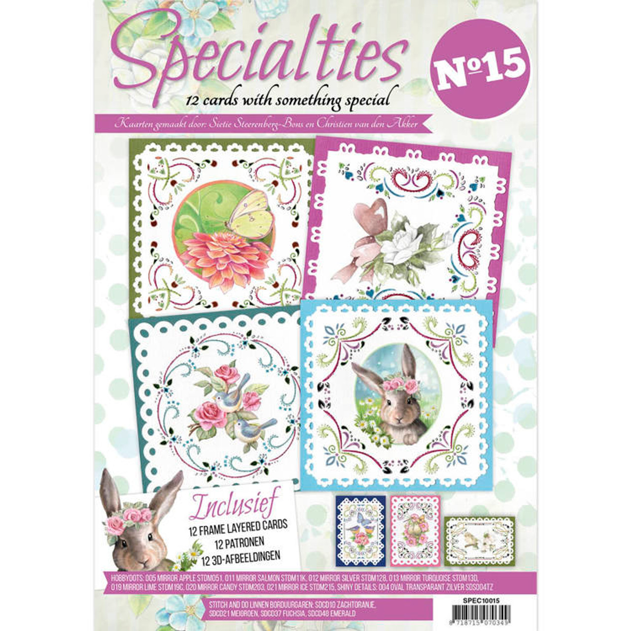 Specialties A4 Booklet 15 - Card Stitching & Hobbydots