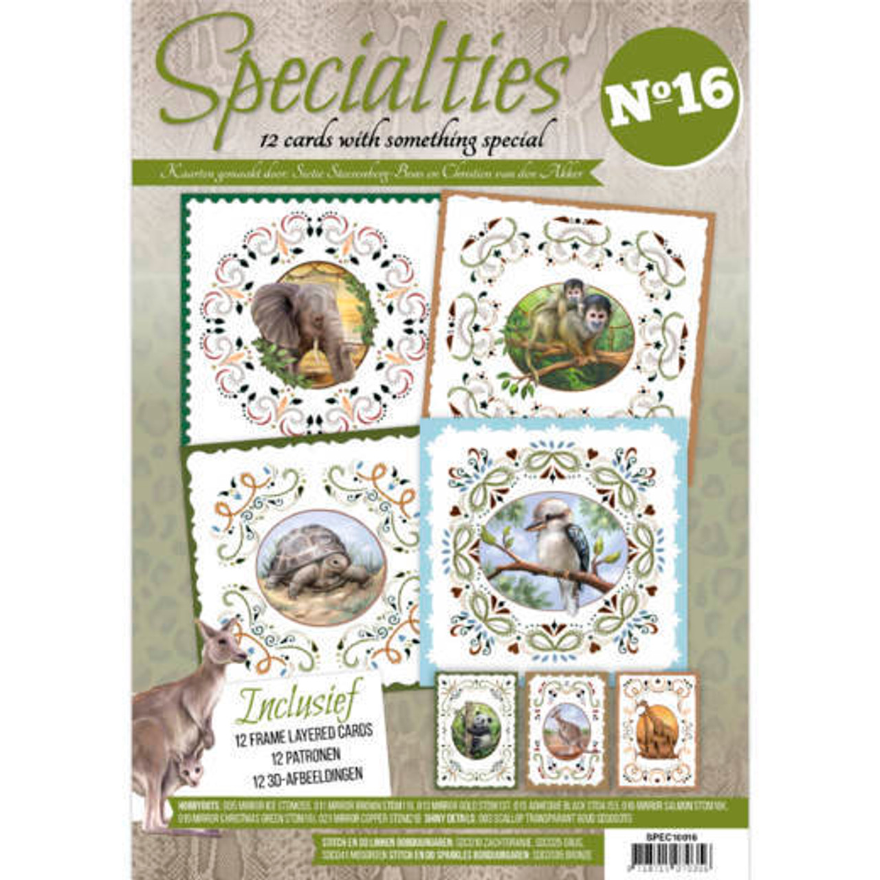 Specialties A4 Booklet 16 - Card Embroidery & Hobbydots