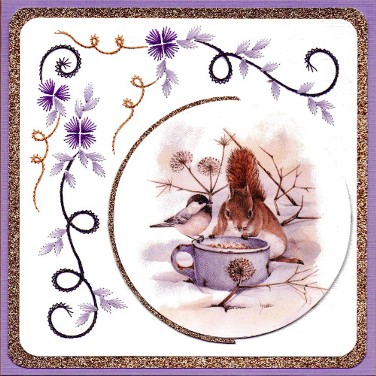 Karin's Creations Card Stitching e-Pattern - KC254e