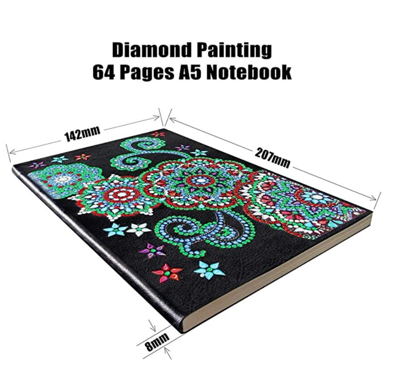 5D DIY Diamond Painting A5 Notebook NB52