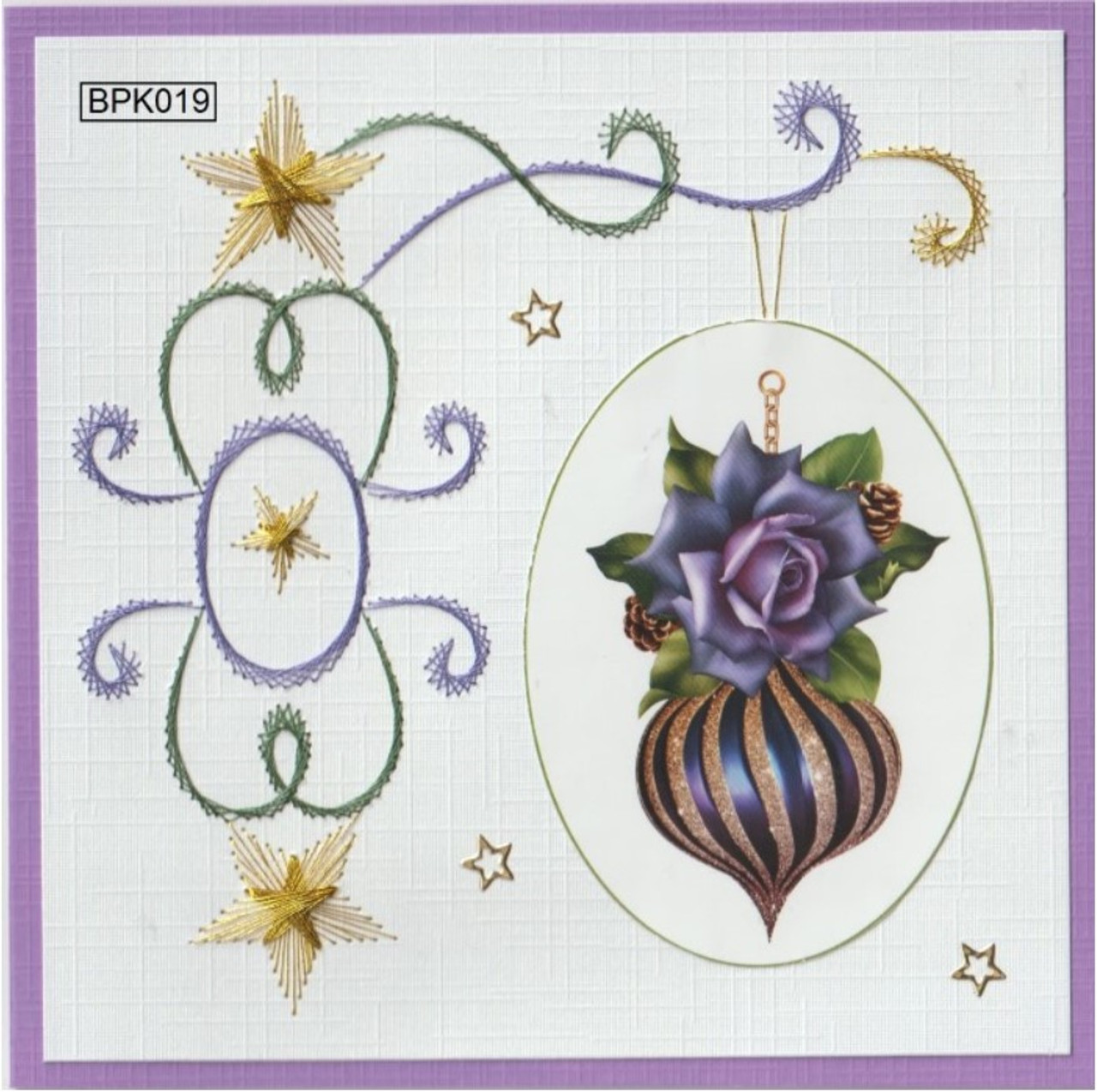 Laura's Design Card Stitching e-Pattern Set 5  - BPK019