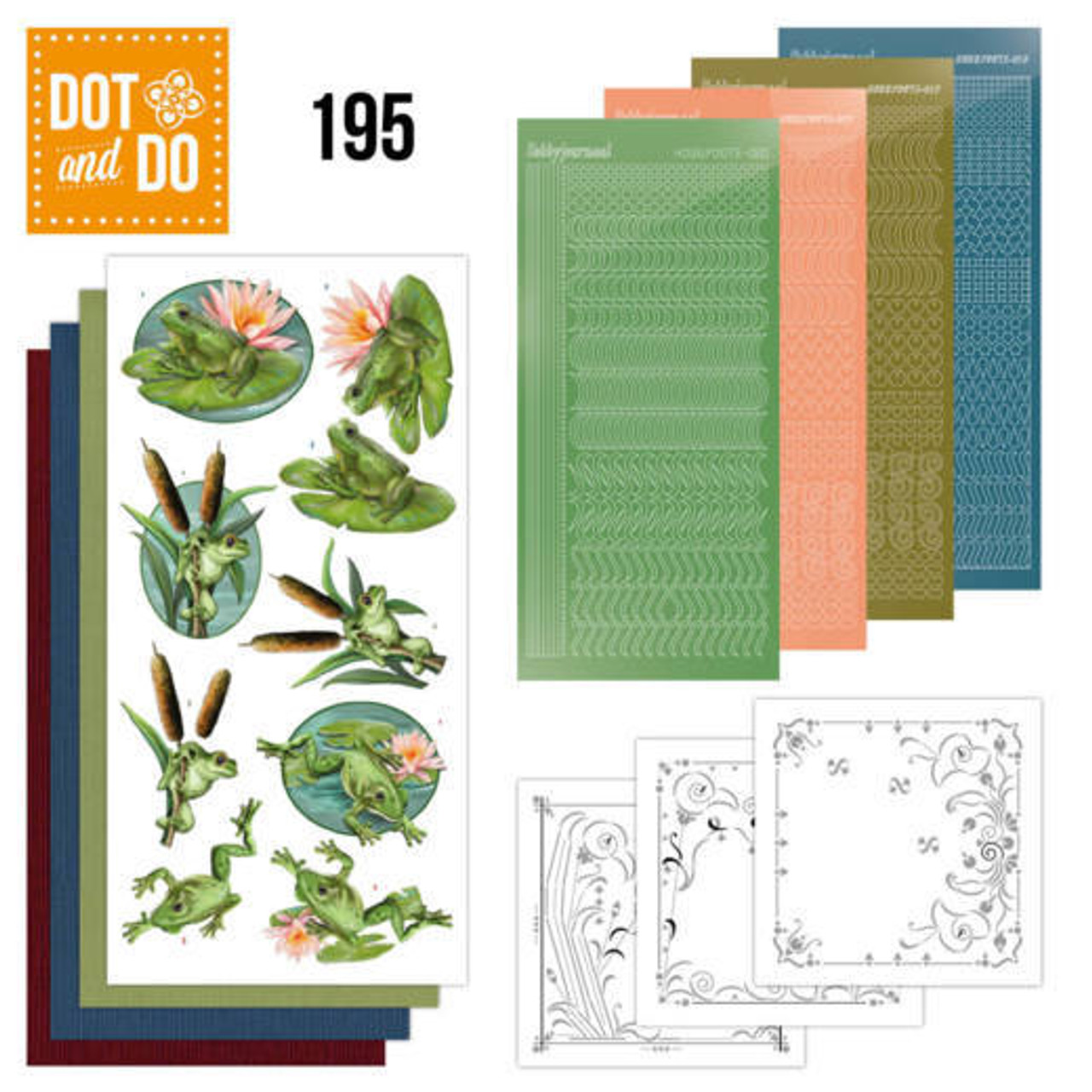 Dot and Do Kit #195 - Amy Design - Friendly Frogs