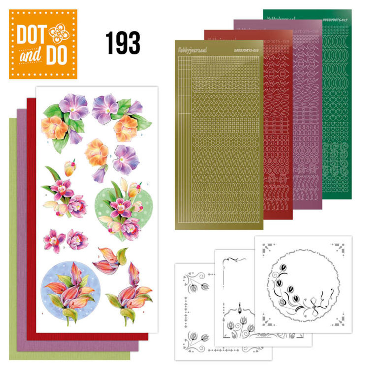 Dot and Do Kit #193 - Yvonnes Creations - Orchid