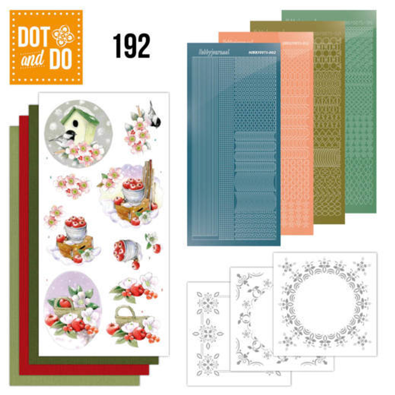 Dot and Do Kit #192 - Jeannines Art - Cold Winter
