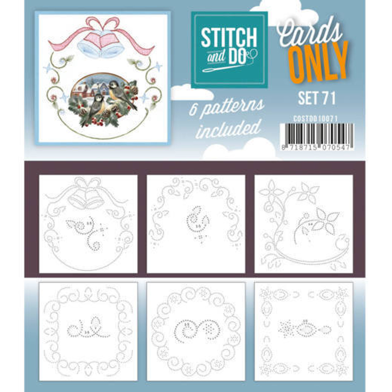 Stitch and Do Card Stitching Cardlayers Only - Set 71