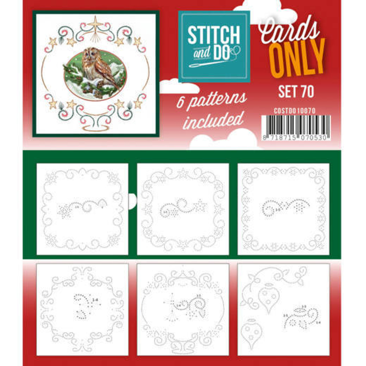 Stitch and Do Card Stitching Cardlayers Only - Set 70