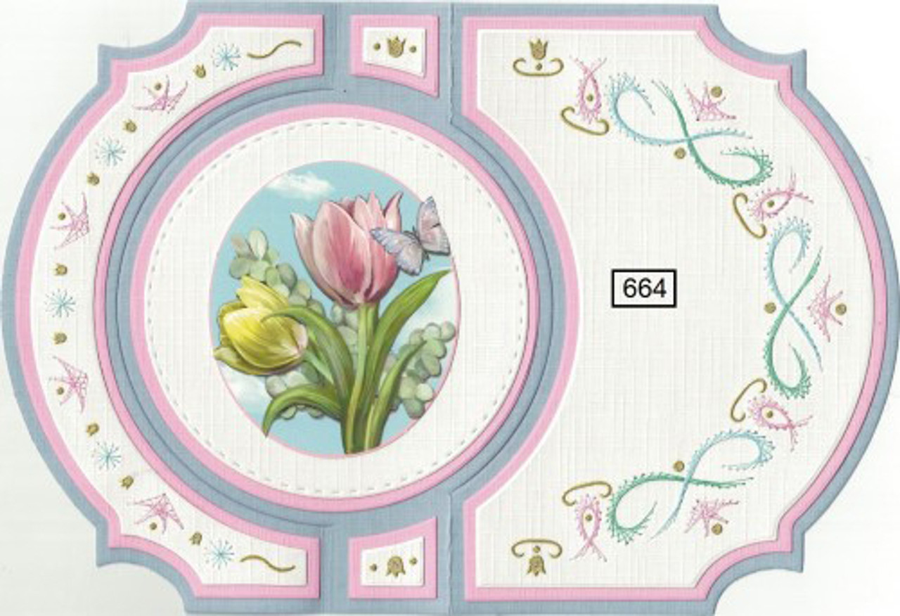 Laura's Design Card Stitching e-Pattern - LD664