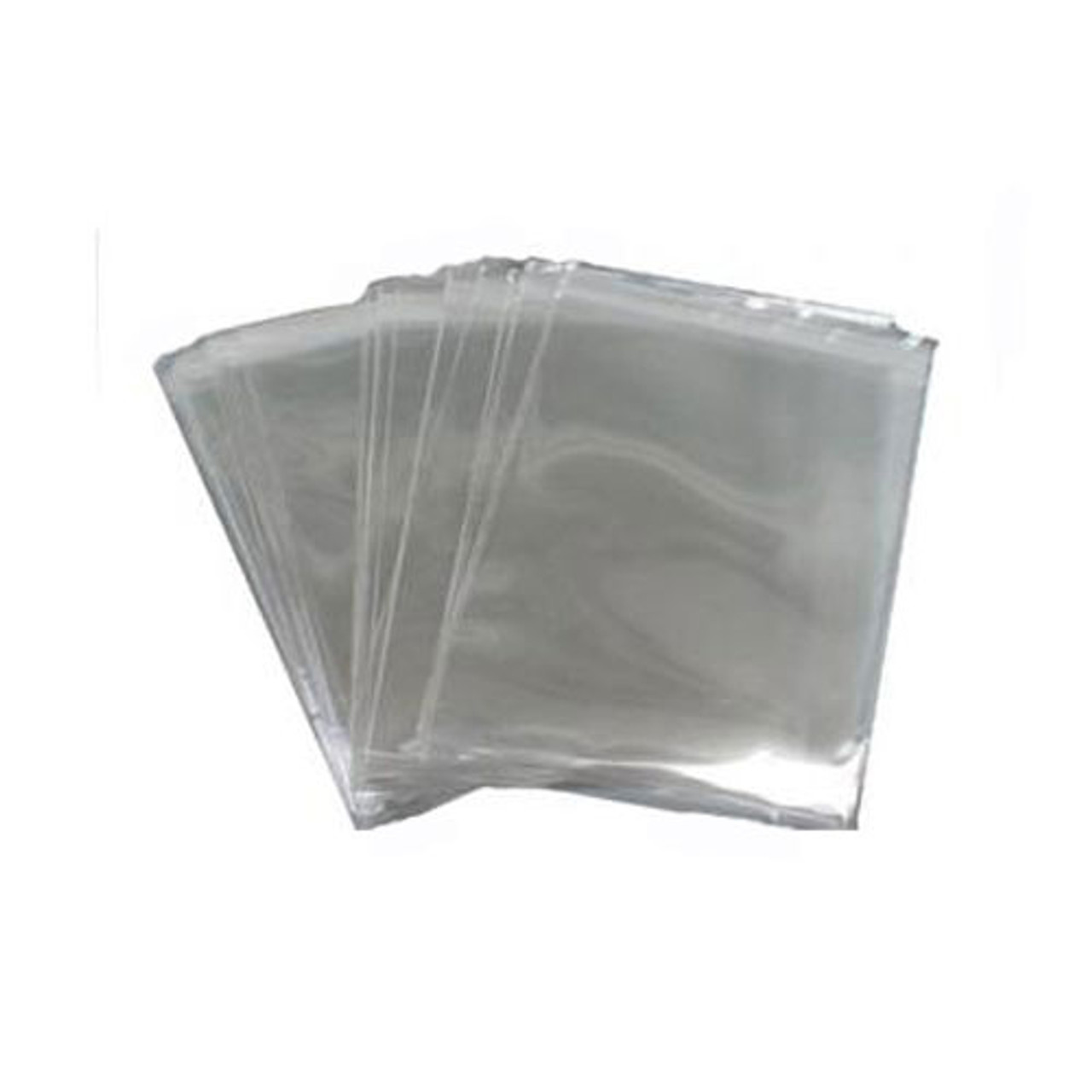 "Clear Resealable Bags 140mm x 200mm (fits 5""x7"" Card & A7 Envelope) - Pk of 100"