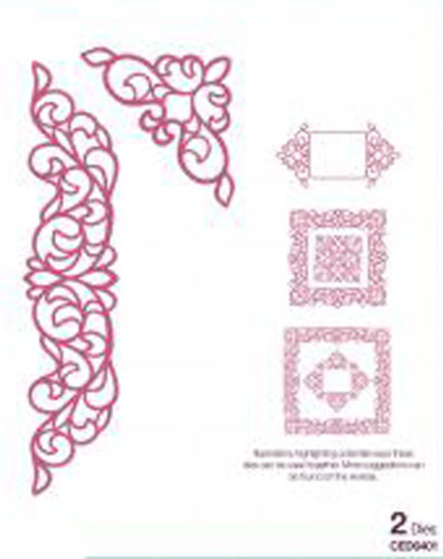 Sue Wilson - Configurations Elegant Lace Edger Die CED6401 - 15% Off