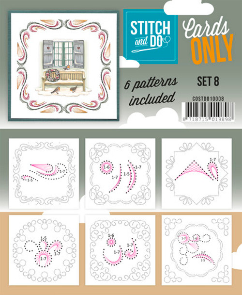 Stitch and Do Card Stitching Cardlayers Only - Set 8