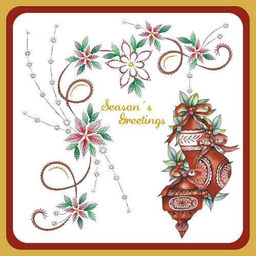 Karin's Creations Card Stitching e-Pattern - KC171e