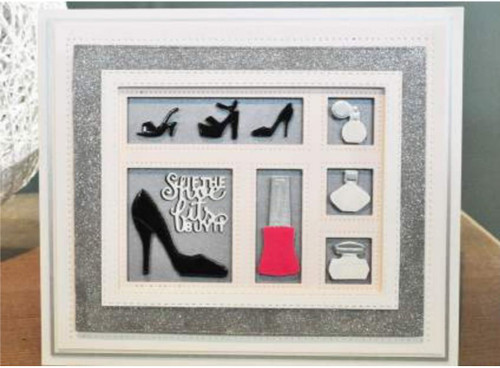 Sue Wilson - Shadow Box Collection -  Retail Therapy CED9310 - Pre-Order 15% Off