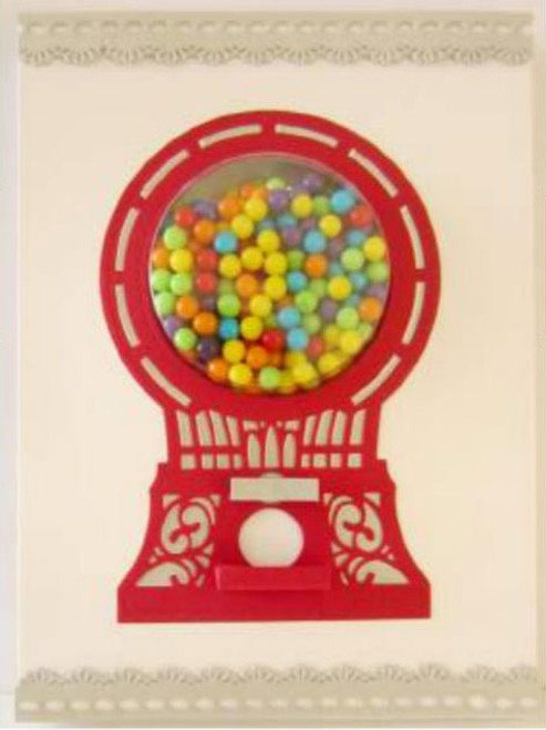 Sue Wilson Kinetics Collection Dies -  Working Candy Machine CED22004 - 15% Off Pre-Order