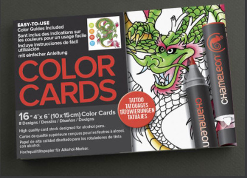 Chameleon Color Cards - Totally Tattoo