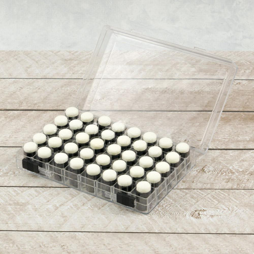 Couture Creations 40 Fingertip Sponge Daubers with Storage Case
