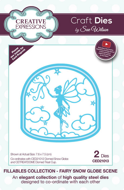 Sue Wilson Fillables Collection Dies - Fairy Scene  CED21013