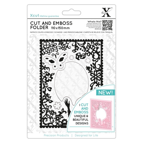 Cut & Emboss Folder - Elegant Lady  (XCU503814)