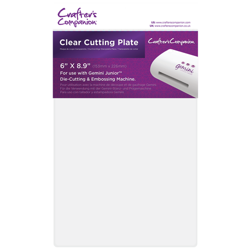 Crafter's Companion Gemini Junior Clear Cutting Plates