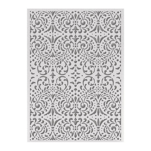 "Couture Creations Embossing Folder 5"" x 7"" - Intricate Background"