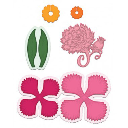 Heartfelt Creations Cut and Emboss Die - Large Camelia Carnation HCD1-7165