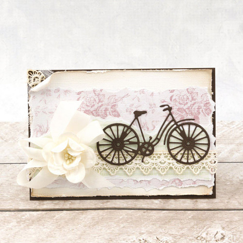 Couture Creations C'est La Vie Decorative Die - French Bicycle (CO725762)