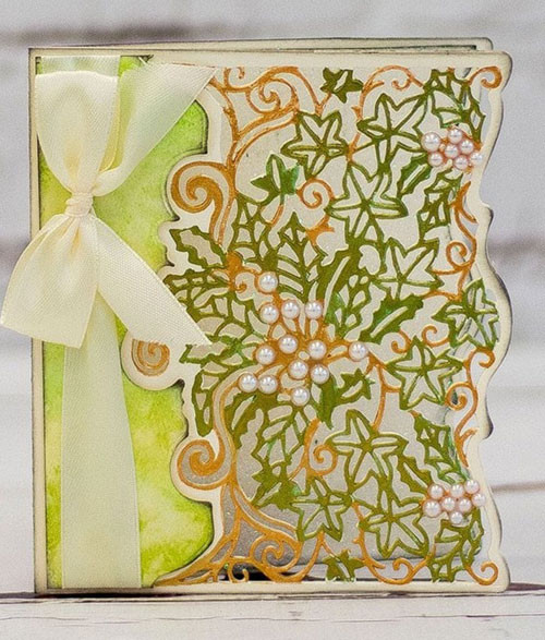 Crafter's Companion Gemini Create A Card Die - Christmas Foliage