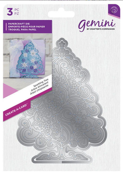 Crafter's Companion Gemini Create A Card Die - Sparkling Tree