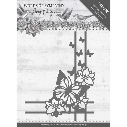 Amy Design Die - Words of Sympathy - Sympathy Corner -  ADD10156