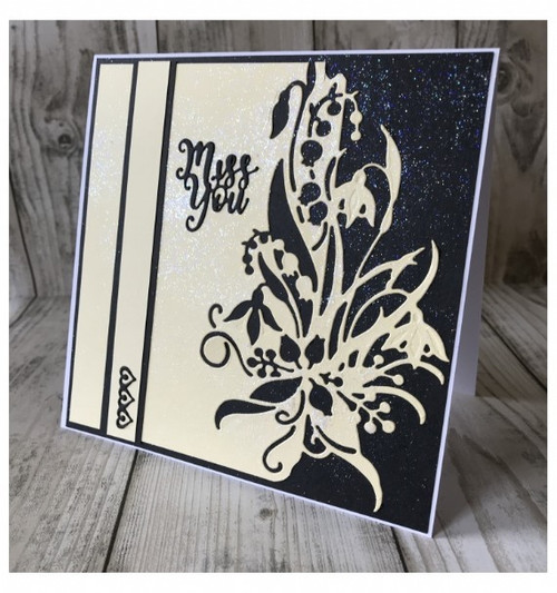 Creative Expressions Paper Cuts Collection Die - Snowdrop Edger CEDPC1058