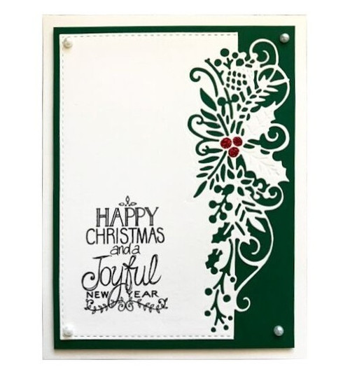 Creative Expressions Paper Cuts Collection Die - Holly Berry Edger