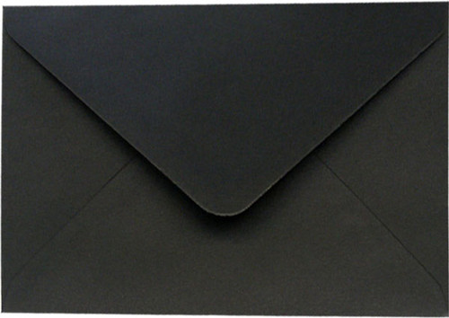 A7 Envelopes - 130mm x 185mm - BLACK 20Pk 120gsm