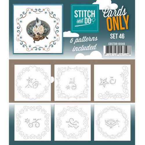 Stitch and Do Card Stitching Cardlayers Only - Set 46