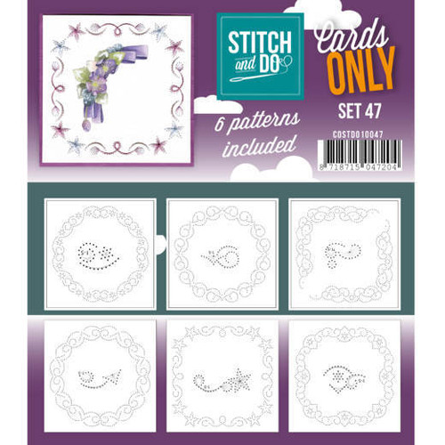 Stitch and Do Card Stitching Cardlayers Only - Set 47