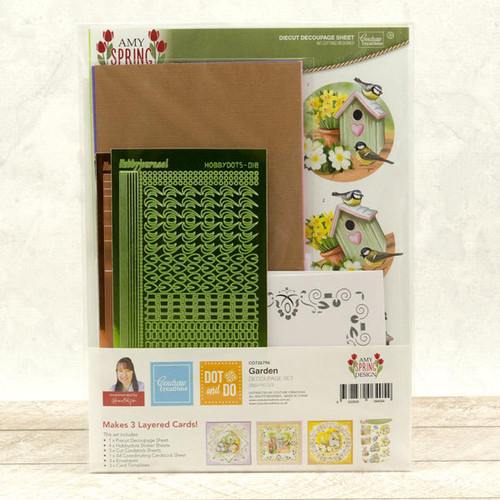Dot & Do 3D Push Out Kit Amy Spring Design - Garden (CO726796)