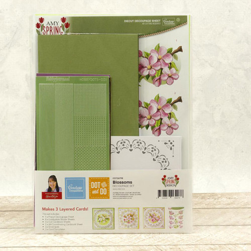 Dot & Do 3D Push Out Kit Amy Spring Design - Blossoms