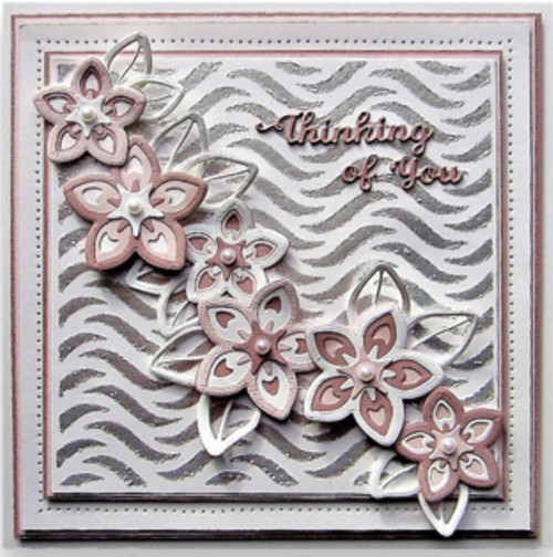 Sue Wilson Triple Layer Collection Wildflower CED9507