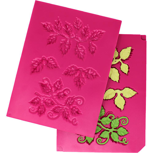 Heartfelt Creations 3D Leafy Accents Shaping Mold