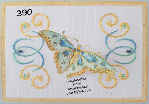 Laura's Design Card Stitching Pattern - LD390