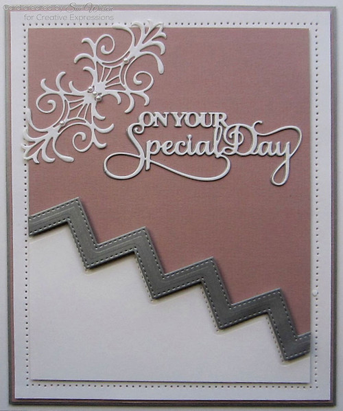 Sue Wilson Mini Expressions Collection Die - On Your Wedding Day CEDME032