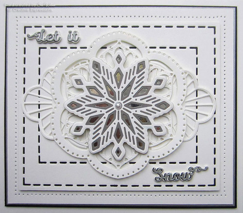 Sue Wilson Festive Collection - Meredith Triple Layering Die CED3172