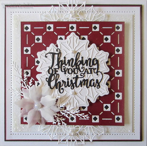 Sue Wilson Festive Collection - Paula Background CED3191