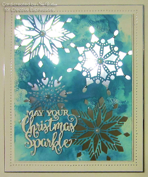 Sue Wilson Festive Mini Expressions Collection - May Your Christmas Sparkle CEDME035