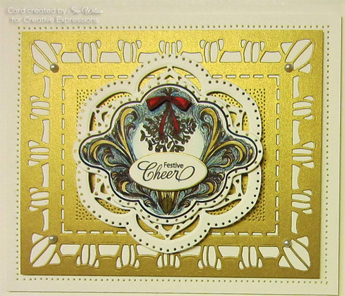 Sue Wilson Stamps To Die For -  MARIE'S MISTLETOE UMS891