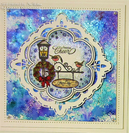 Sue Wilson Stamps To Die For - MARILYNNE'S LAMPLIGHT UMS893