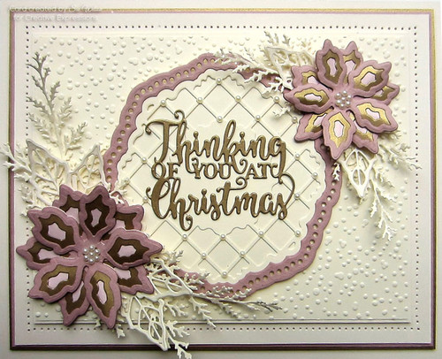 Sue Wilson Stamps To Die For - AMELIA'S HOLLY WREATH UMS895