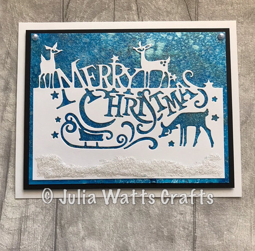 Creative Expressions Paper Cuts Collection Die - Merry Christmas