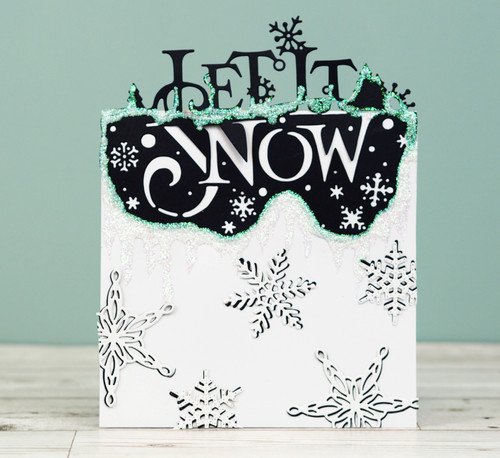 Creative Expressions Paper Cuts Collection Die - Let It Snow  CEDPC1084